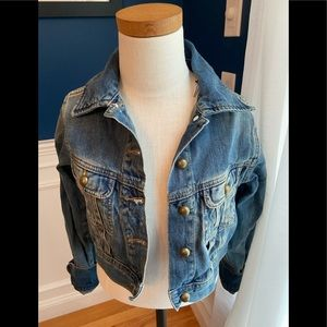 Ralph Lauren crop Jean jacket 8/10